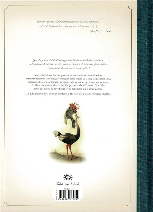 Marie-Antoinette ; carnet secret d'une reine