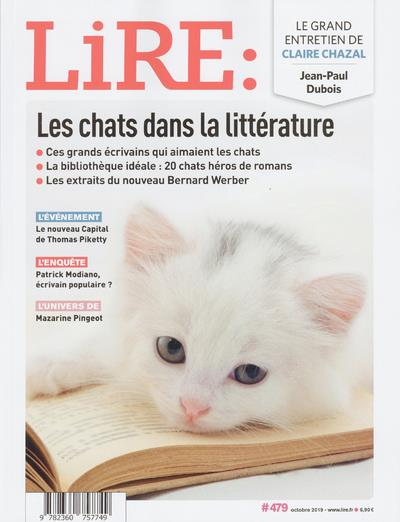 Lire n.479 ; les chats dans la litterature