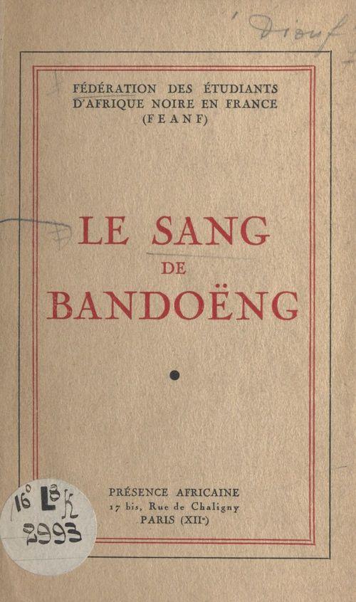 Le sang de Bandoëng