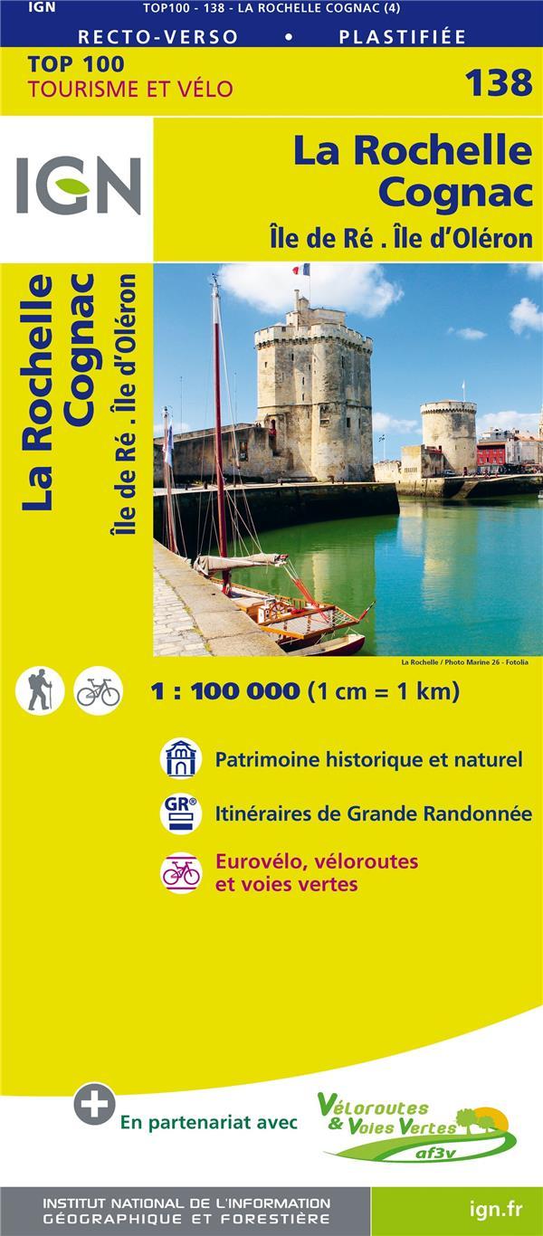 TOP100138 ; la Rochelle Cognac (édition 2018)
