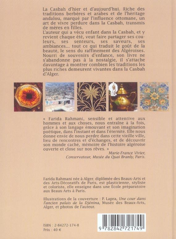 la casbah d'alger, un art de vivre des algeriennes