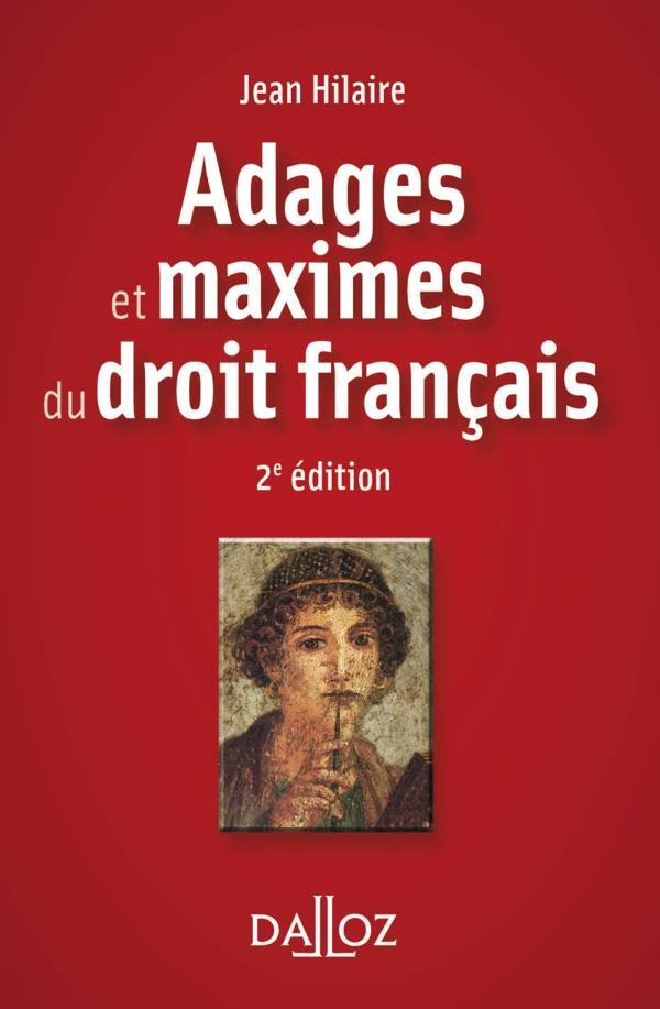 Adages et maximes du droit français (2e édition)