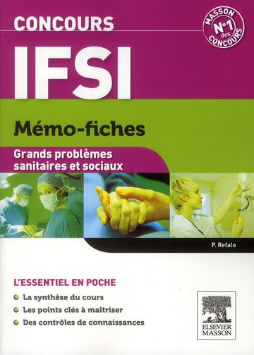Memo-Fiches; Concours Ifsi ; Grands Problemes Sanitaires Et Sociaux