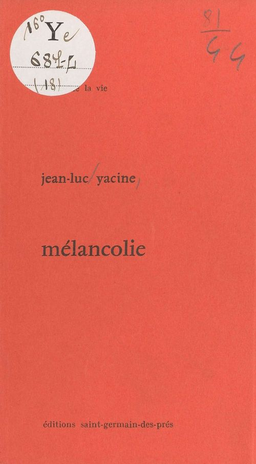Mélancholie