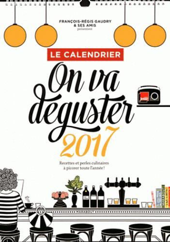 Calendrier on va déguster (édition 2017)