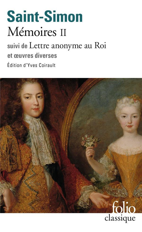 Memoires (tome 2) - textes choisis