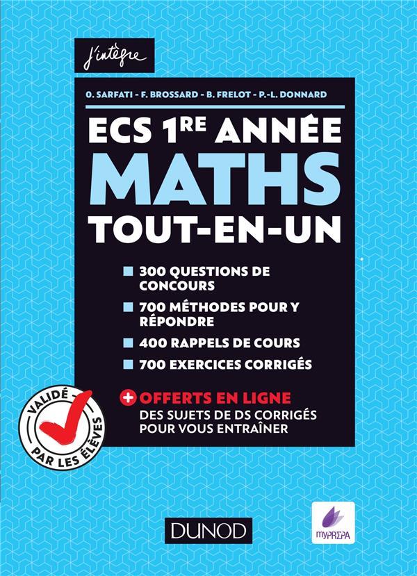 mathématiques ; ECS ; 1ère année