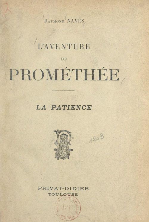 L'aventure de Prométhée
