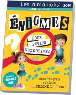 énigmes pour petits détectives (édition 2019)