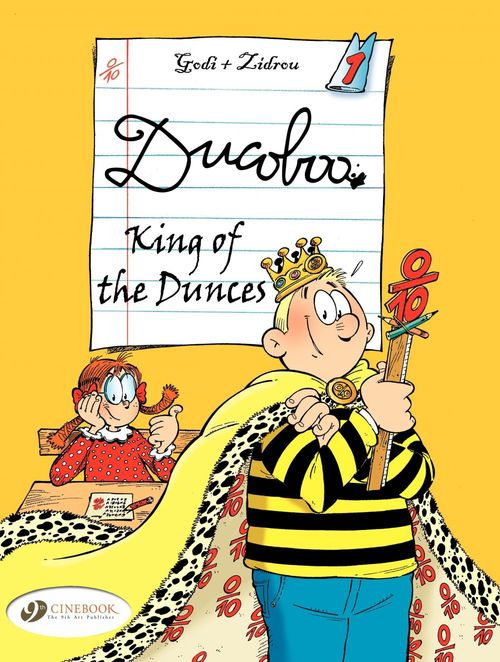 Ducoboo t.1 ; king of the dunces