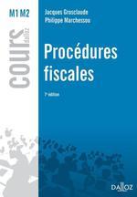 Vente EBooks : Procédures fiscales  - Jacques Grosclaude - Philippe Marchessou