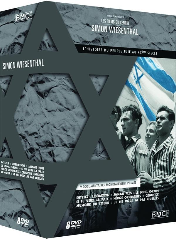 Les Films du Centre Simon Wiesenthal - Coffret 8 DVD