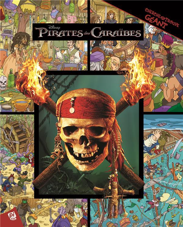 CHERCHE ET TROUVE GEANT ; Pirates des Caraïbes