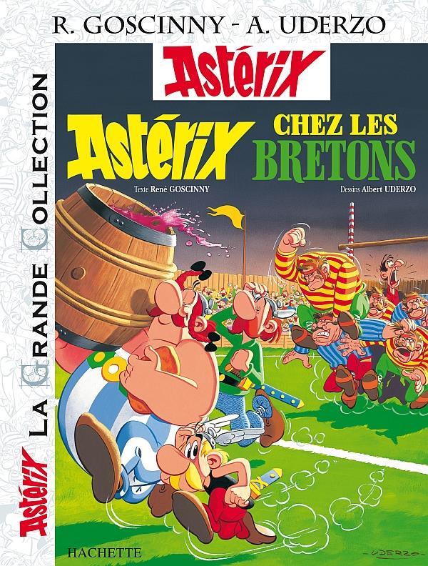 Astérix T.8 ; Astérix chez les Bretons
