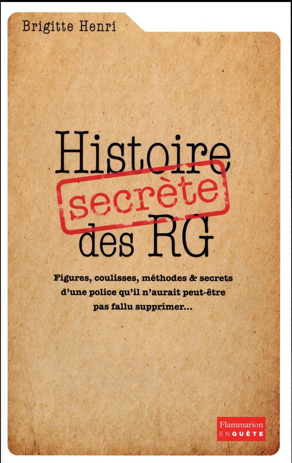 Histoire secrete des RG