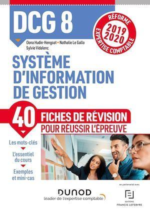DCG 8 Système d'information - Fiches de révision