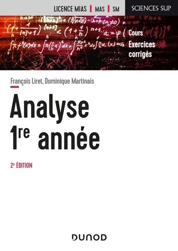 Mathématiques pour la licence t.1 ; analyse, 1re année (2e édition)