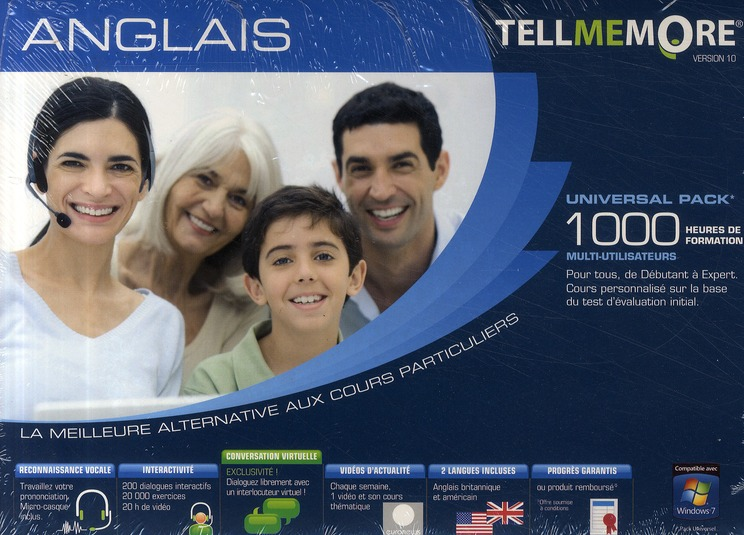 Tell Me More; Anglais ; 1000 Heures De Formation