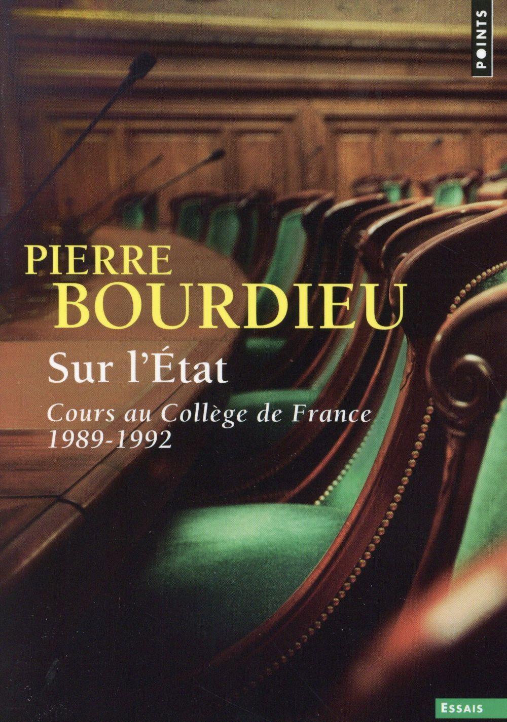 Sur l'État ; cours au Collège de France (1989-1992)