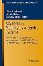 Advances in Mobility-as-a-Service Systems  - Giannis Adamos - Ioannis Karakikes - Eftihia G. Nathanail