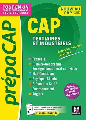 CAP tertiaires et industriels ; matières générales nouv. programmes-revision entrainement