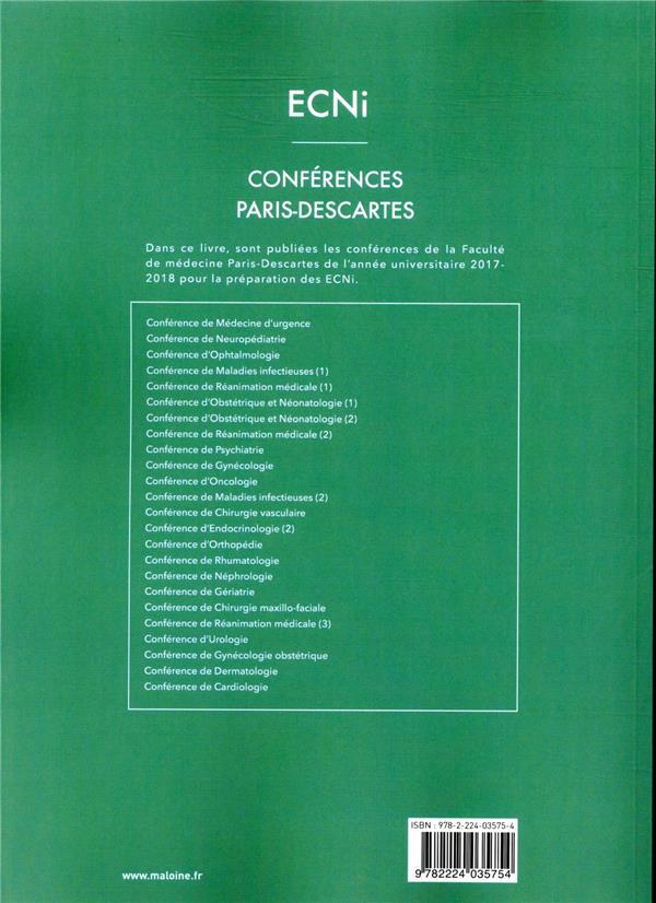 Ecni conferences paris-descartes - volume 2