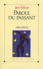 Vente EBooks : Parole du passant  - Jean Sulivan