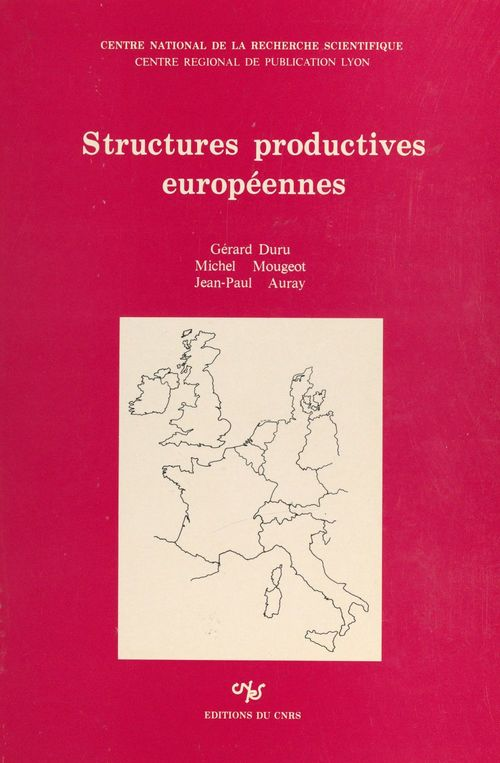 Structures productives europeennes