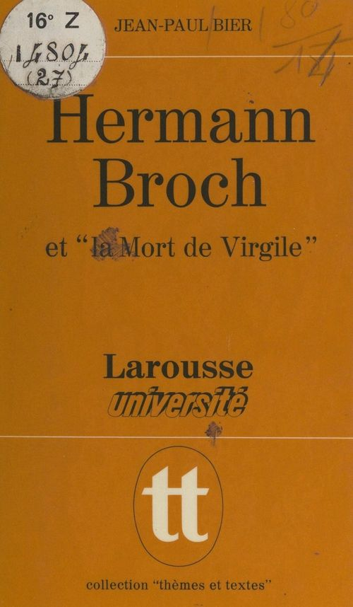 Hermann Broch et