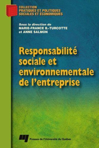 Responsabilite Sociale Et Environnementale De L'Entreprise