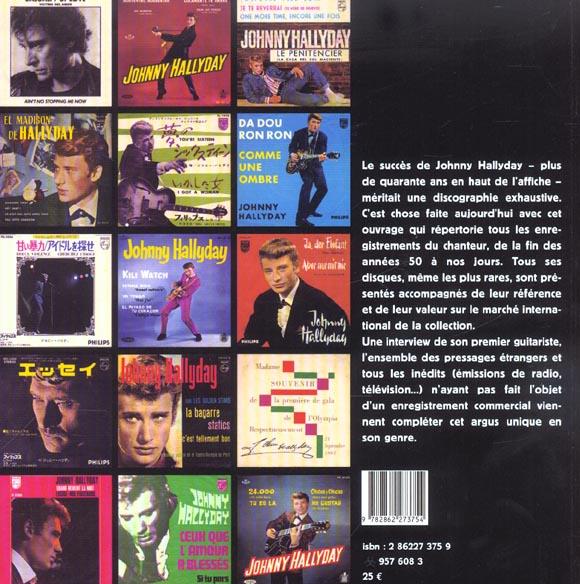 L'argus johnny hallyday - discographie mondiale et cotations