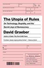 Vente EBooks : The Utopia of Rules  - David GRAEBER