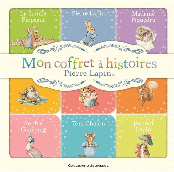 Pierre Lapin : mon coffret à histoires
