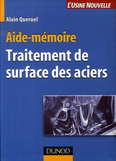 Aide-Memoire De Traitement De Surface Des Aciers