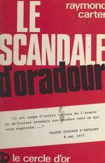 Le scandale d'Oradour
