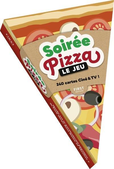 soirée pizza ; le jeu