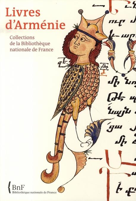 Livres d'arménie ; collections de la bibliothèque nationale de france