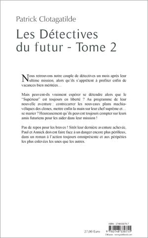Les detectives du futur tome 2