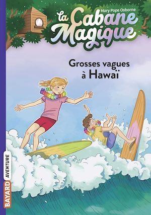 La cabane magique T.23 ; grosses vagues à Hawaï
