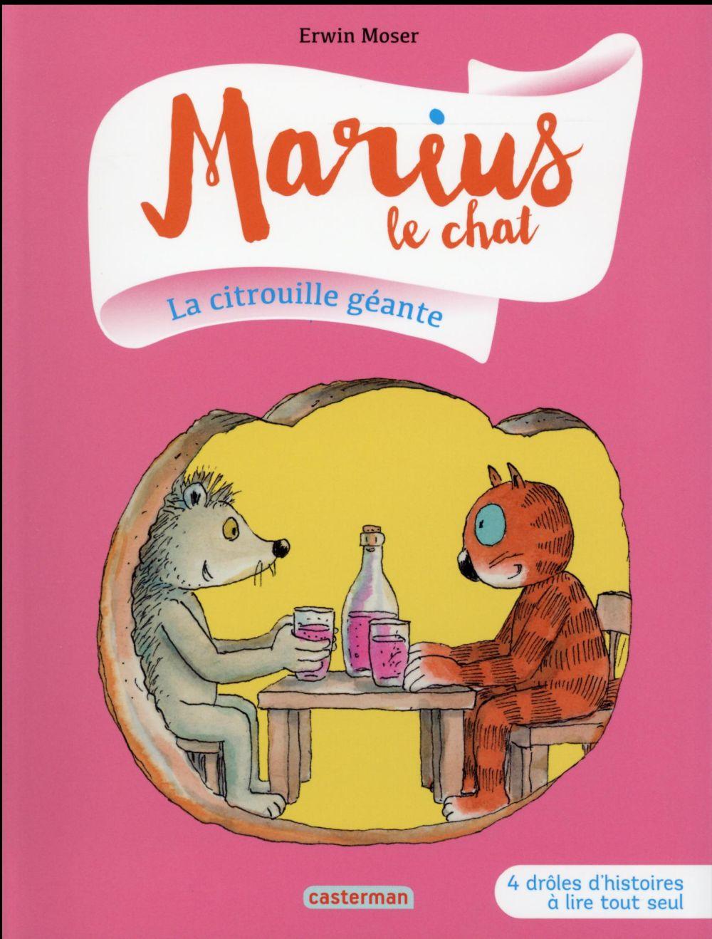 Marius le chat T.4 ; la citrouille géante
