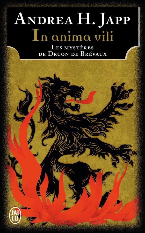 Les mystères de Druon de Brevaux t.4 ; in anima vili