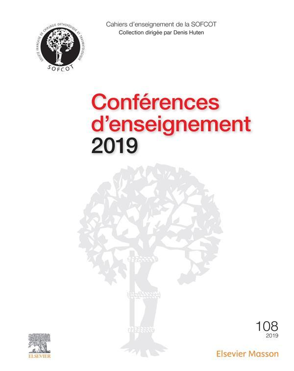 Conférences d'enseignement (édition 2019)