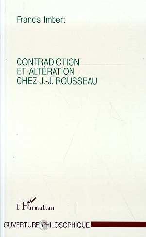 Contradiction et alteration chez j.j.rousseau
