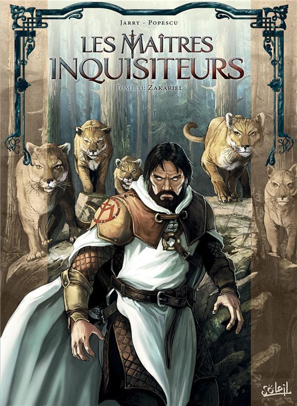 LES MAITRES INQUISITEURS - T11 - MAITRES INQUISITEURS 11 - ZAKARIEL JARRY/POPESCU