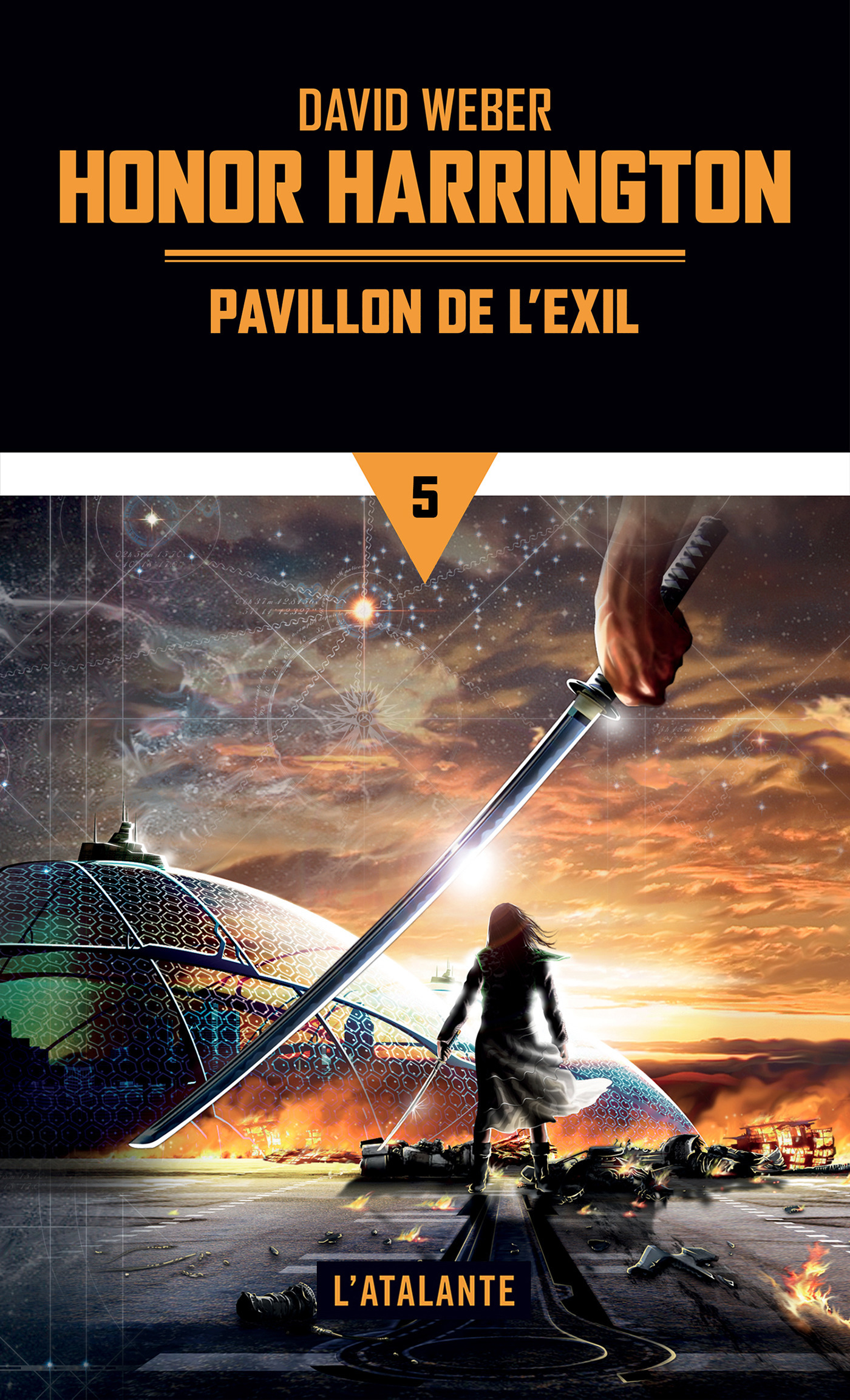 Honor Harrington T.5 ; pavillon de l'exil