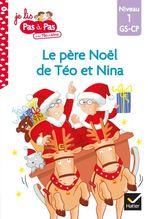 Vente Livre Numérique : Téo et Nina GS-CP Niveau 1 - Le père Noël de Téo et Nina  - Marie-Hélène Van Tilbeurgh - Isabelle Chavigny