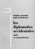 Vente Livre Numérique : Les diplomaties occidentales : unité et contradictions  - John Newhouse - Pierre Hassner