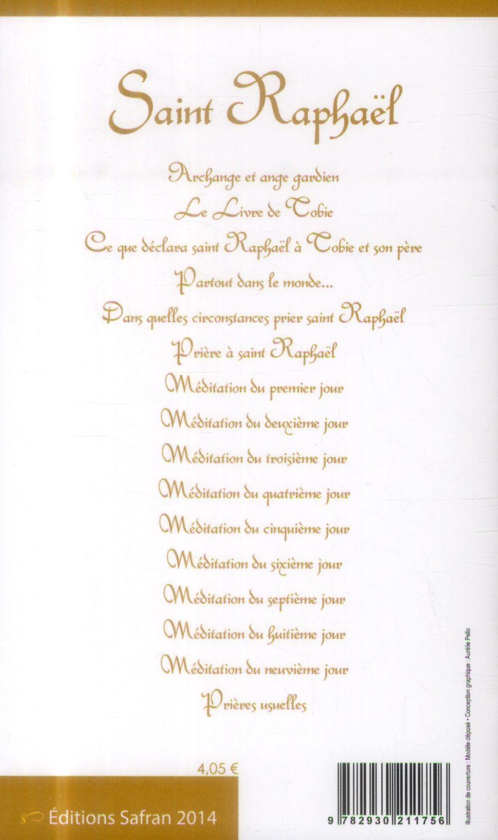 Saint Raphaël ; neuvaine et prières