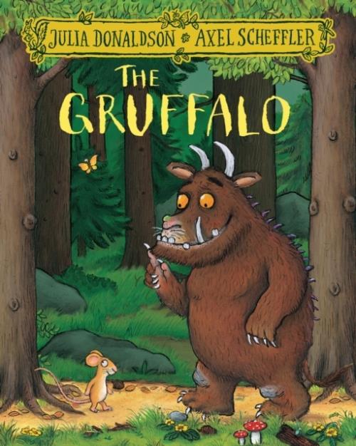 The gruffalo (paperback) /anglais