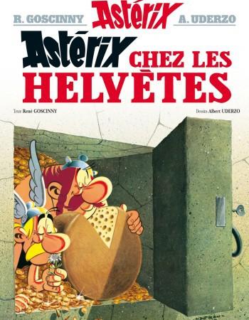 Astérix T.16 ; Astérix chez les Helvètes